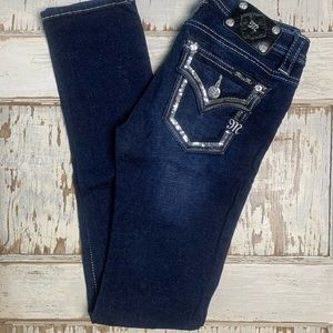 Miss Me Sequin Skinny Jeans